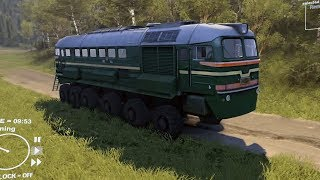 Spintires - Train Offroading