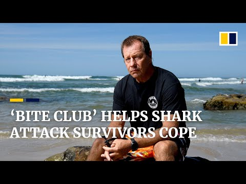 Australian shark attack survivor's 'Bite Club' helps other victims cope with past trauma