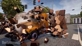 Clay Wall Destruction - ETS/ATS Particle Destruction Mod Concept -Truck Sim