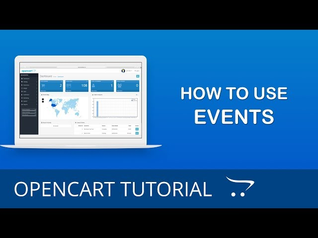 OpenCart 3.x Event System Overview