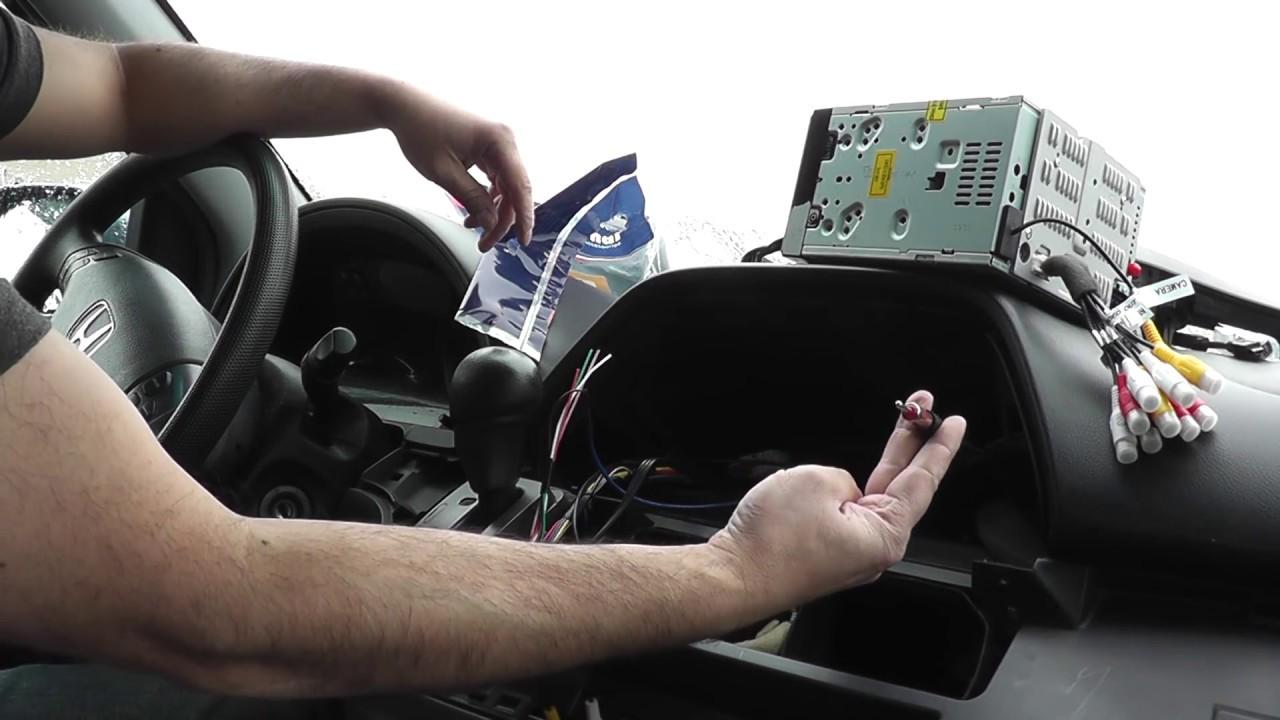 Honda Odessey Navigation Install  YouTube