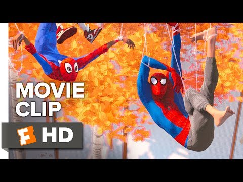 Spider-Man: Into the Spider-Verse EXCLUSIVE Clip – Another, Another Dimension