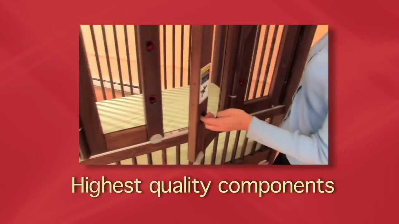 The gertie baby crib by kayserbetten