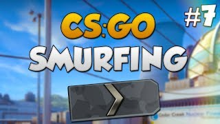 CS:GO SMURFING #7 - KID TEACHING ME CSGO!
