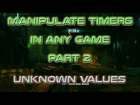 HACK Timers In Any Game Part 2 (Unknown Values)