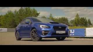 """Тест драйв Subaru WRX, автодром """"Kazanring"""".  Июль 2014 г."""