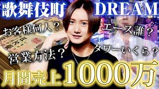 【歌舞伎町】月間売上1000万ってどうやったらいくの?お客様情報公開??