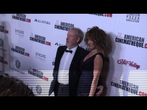 Hollywood stars honor British director Ridley Scott