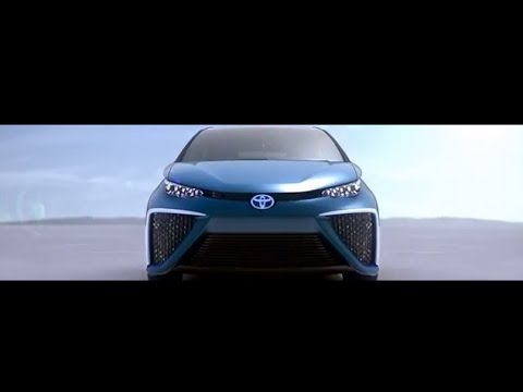 TOYOTA FCV Concept technology - the North American International Auto Show 2014