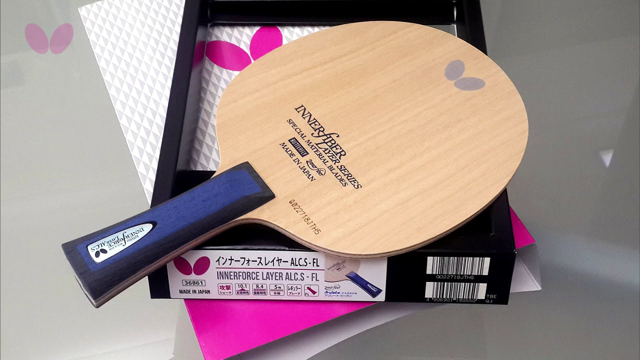 Ping Pong Racket Butterfly Innerforce ALC-ST Blade Table Tennis