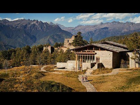 Six Senses Bhutan, Paro Lodge - Full Tour (5-star Mountain Lodge)