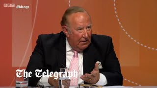 video: Andrew Neil suggests he quit GB News because it was 'not my kind of journalism'