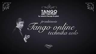 Jakub Grzybek & Patrycja Cisowska- Tango ONline Lesson 15 (Men's Technique)
