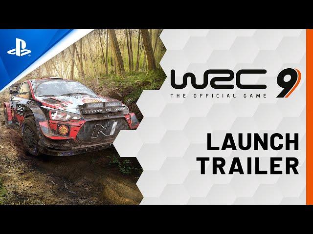 WRC 9 - Launch Trailer | PS4