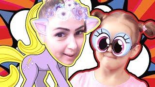 BABY BORN Маскарад Примеряем маски MSQD Зайчики Котики и Пони Видео для детей Kids Video Беби Борн