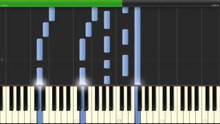 Adele - Set Fire to the Rain Cover (Easy-To-Learn Piano Tutorial at 80% Speed)