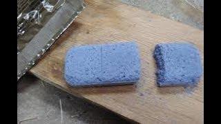 Trioxane Fuel Tablet Burn Test on a Firebox Stove