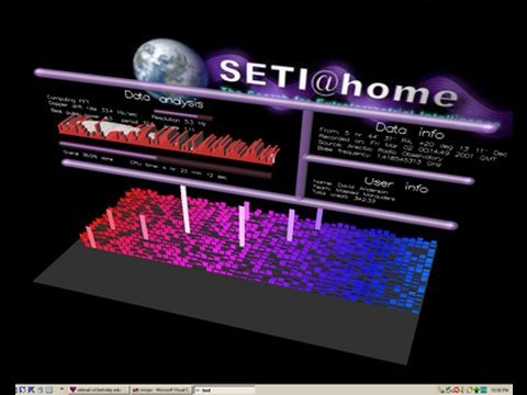 SETI@home: Discover ET Using Your Home Computer