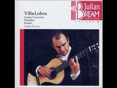 Heitor Villa Lobos - 12 Estudios - Julian Bream -