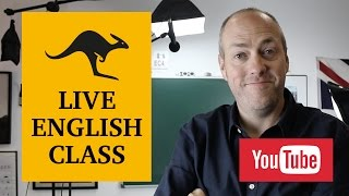 Live English class | November 22, 2016 | Canguro English