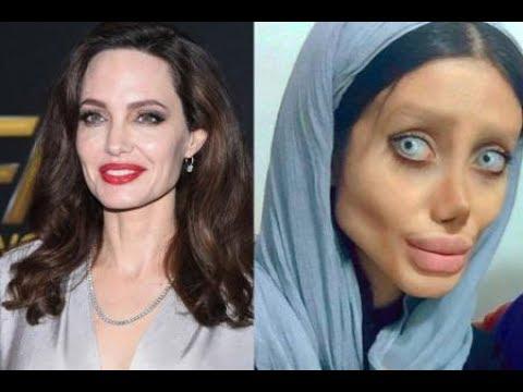 Iranian Look Like Angelina Jolie >> Iranian Woman Has 50 Surgeries to Look Like Her Idol Angelina Jolie - YouTube
