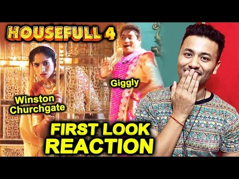 HOUSEFULL 4 First Look Reaction | Jamie Lever As Winston Churchgate | Johnny Lever As Giggly | HF 4 Mp3
