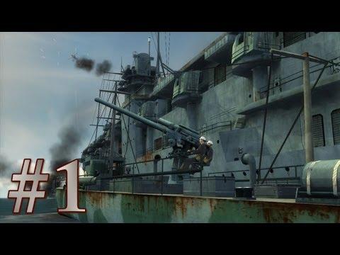 Прохождение Battlestations: Midway, Перл-Харбор (1).