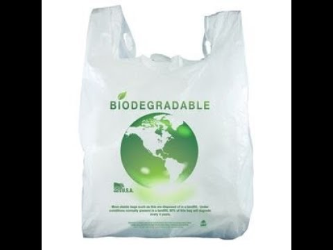 Degradable plastic within 3days - by Coimbatore corporation