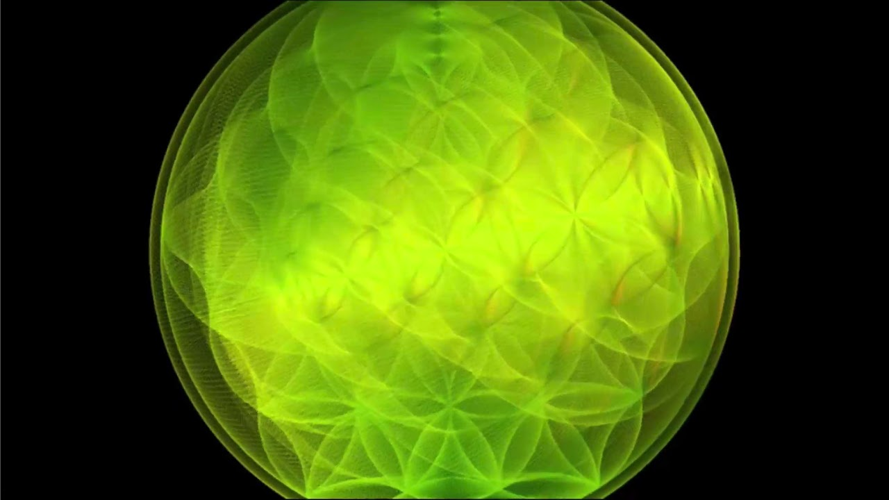 Meditation Fleur De Vie 3d Mantra Om Youtube