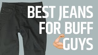 Jeans For Guys With Bigger Legs (The Best Athletic Cut Tapered Jeans)