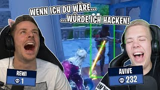 If I ARE you . . . WOULD I hack in FORTNITE next time! With Avive!