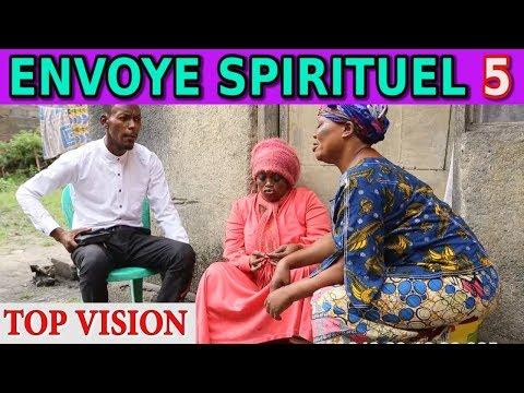 ENVOYE SPIRITUEL Ep 5 Theatre Congolais avec Paka Lowi,Marie Jeanne,Buyibuyi,Masuaku,Mosantu