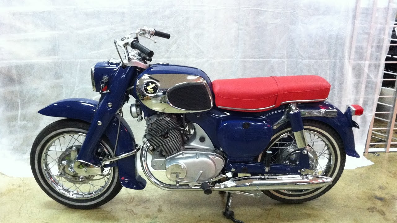 1968 honda 305 dream youtube rh youtube com