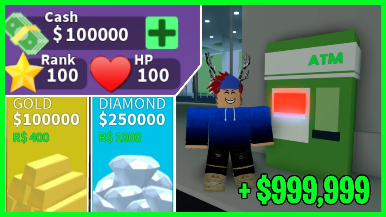 Roblox Mad City How To Get 1 000 000 A Day Best Money Grind