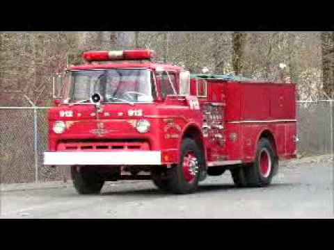 Cabover Trucks For Sale >> For Sale 1971 Ford 900 S/A Fire Pump Truck A/T V8 Engine ...