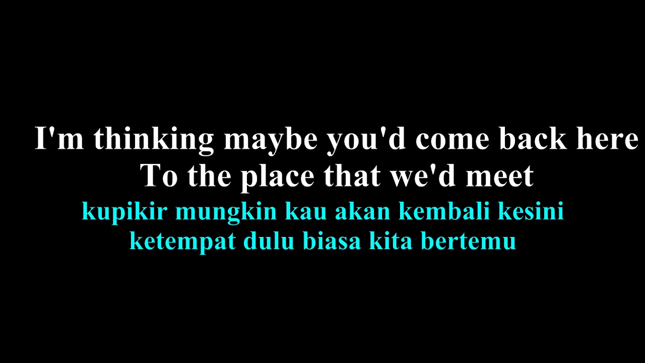Lirik lagu the man who can t be moved