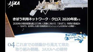 きぼう利用ネットワーク・クロス(2020年度#2「きぼう」利用超小型衛星放出ミッション対談)4.これまでの活動から見えて来た取り組み課題