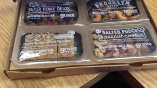Graze Snack Box - 1st box reaction