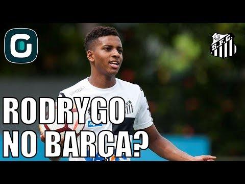Rodrygo Do Santos No Barcelona?- Gazeta Esportiva (27/04/18)