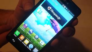 Lg Optimus F6 Screen Shot Metro pcs