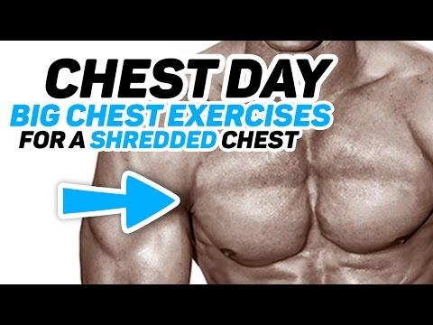 Chest Day - Best Chest Exercises for a Shredded Chest