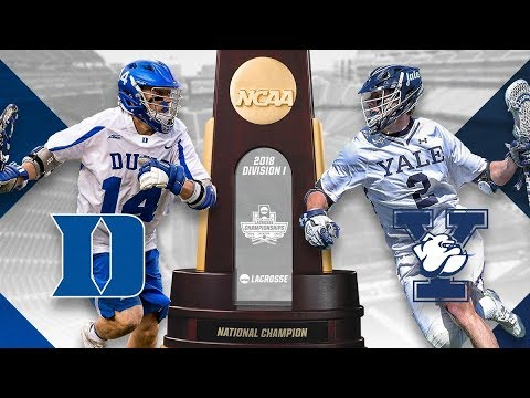 NCAA DI Men's Lacrosse Final Four Highlights