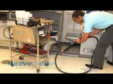 Grocery, Supermarket, & C-Store Cleaning and Sanitizing with a Dry Steam Cleaner - AmeriVap