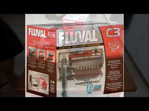 Fluval C3 (Unboxing and Setup)
