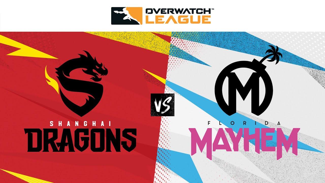Winners Semi-Final   Shanghai Dragons vs Florida Mayhem   May Melee Tournament   Day 1