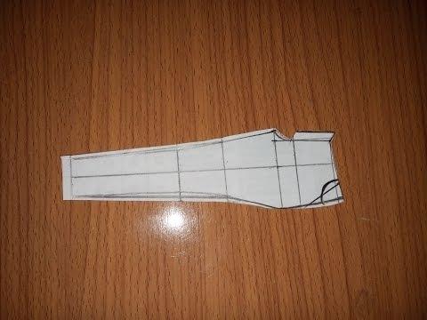 Cách cắt quần âu nữ không ly (phần 1)_How to cut a female pant (part 1)
