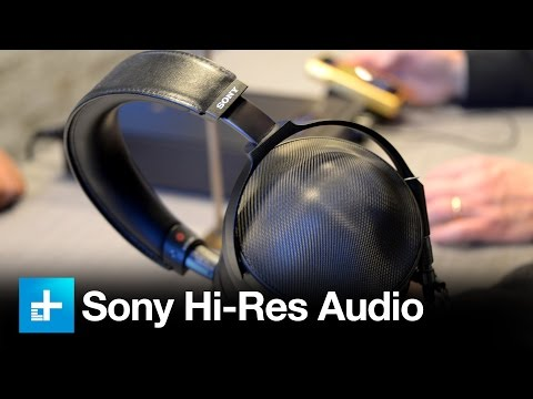 Sony's latest audiophile headphones, amplifier, and Walkman at CES 2017