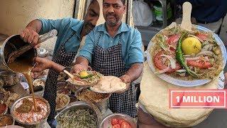 Computerized Chole Kulche || Best Chole Kulche in East Delhi Street Food #CholeKulche