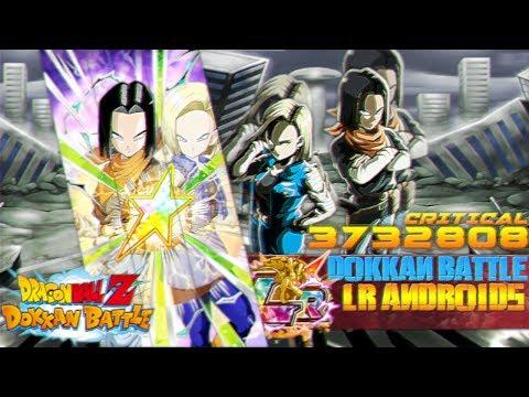 100 PERCENT LR ANDROIDS !!! OVER 3 MILLION !!! | Dragon Ball Z Dokkan Battle