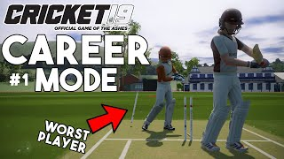 CRICKET 19 | CAREER Mode #1 | Don Duck Road To England 🏴󠁧󠁢󠁥󠁮󠁧󠁿